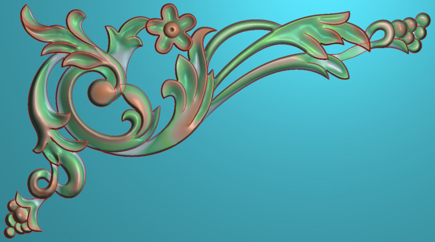 中式横图JDP格式植物角花系列JH0273插图