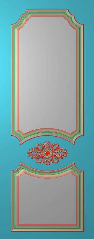 欧式竖图JDP格式雕刻雕花护墙板系列HQ0045插图