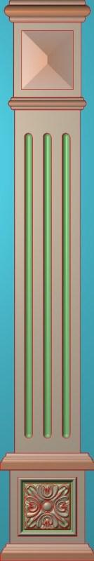 欧式竖图JDP格式罗马柱柱体系列ZB0115插图