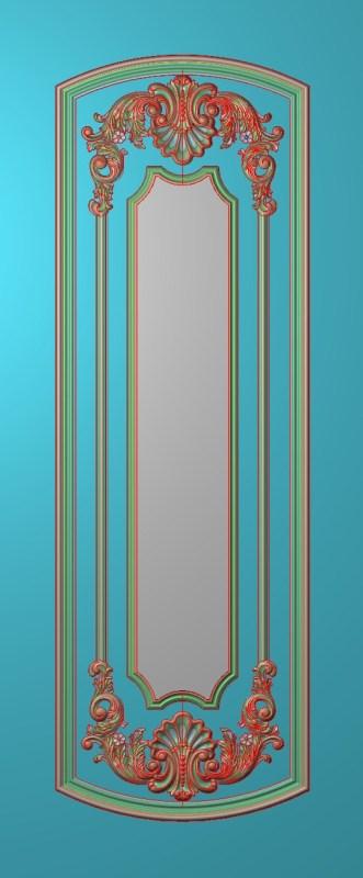 欧式竖图JDP格式雕刻雕花护墙板系列HQ00111插图