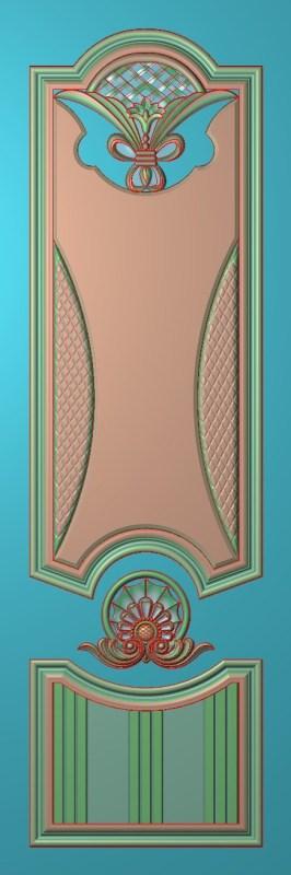 欧式竖图JDP格式雕刻雕花护墙板系列HQ0051插图