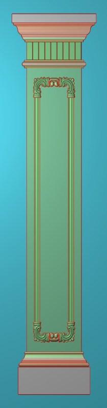 欧式竖图JDP格式罗马柱柱体系列ZB096插图