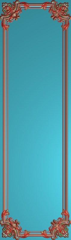欧式竖图JDP格式雕刻雕花护墙板系列HQ00173插图