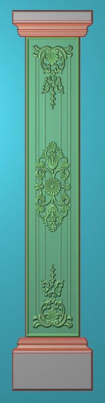 欧式竖图JDP格式罗马柱柱体系列ZB0119插图