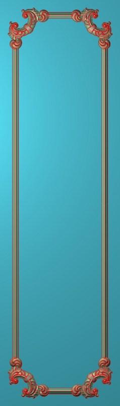 欧式竖图JDP格式雕刻雕花护墙板系列HQ00144插图
