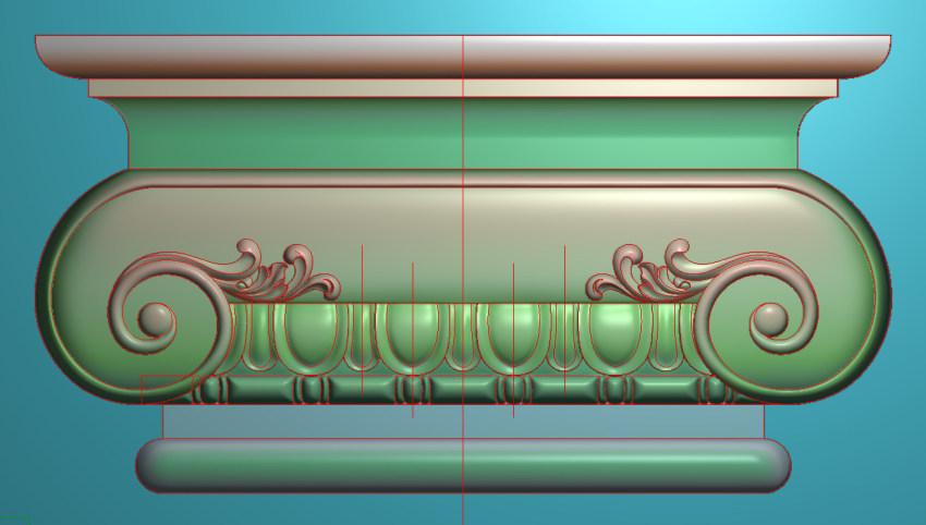 欧式横图JDP格式罗马柱头系列ZB031插图