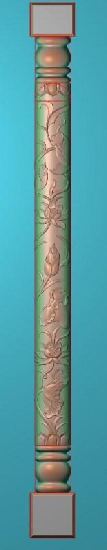 欧式竖图JDP格式罗马柱柱体系列ZB0114插图