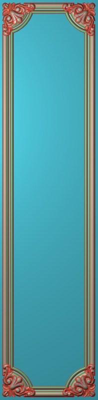欧式竖图JDP格式雕刻雕花护墙板系列HQ00202插图