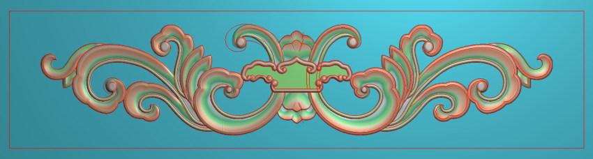 欧式三角花图JDP格式横图浮雕外墙装饰花洋花系列柜门花SH017插图