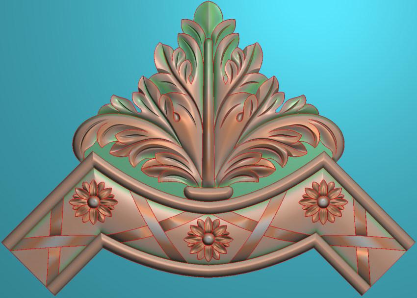 欧式横图JDP格式植物角花系列JH009插图