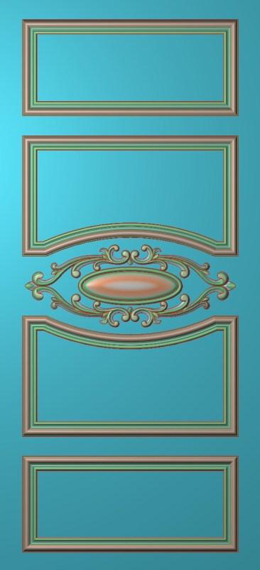 欧式竖图JDP格式雕刻雕花护墙板系列HQ0068插图