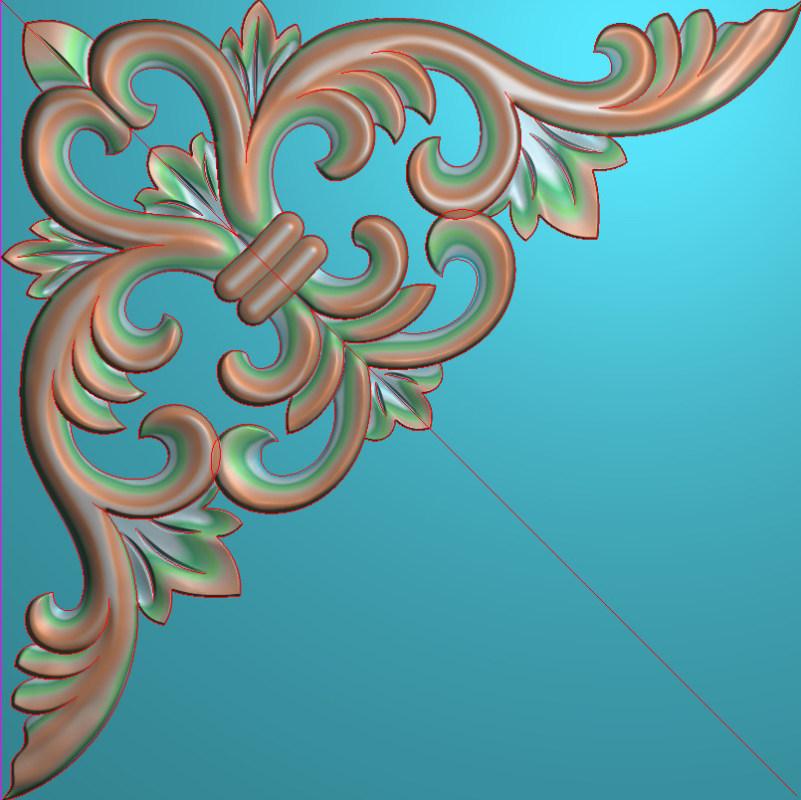 欧式正方图JDP格式植物角花系列JH0160插图