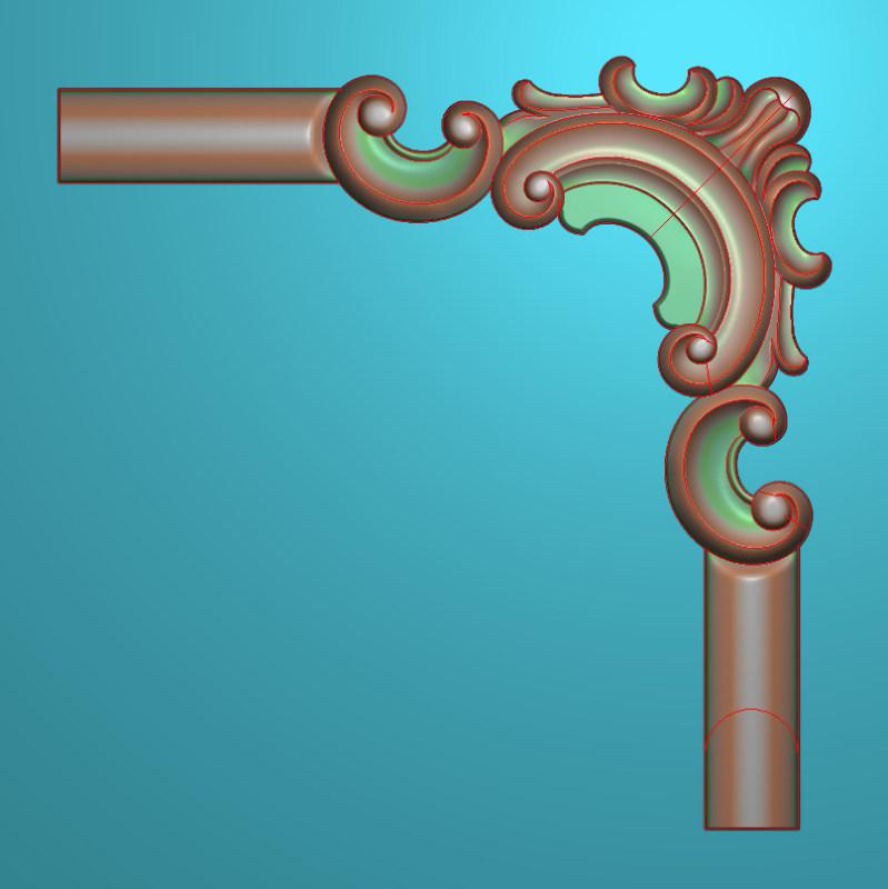 欧式正方图JDP格式植物角花系列JH0249插图