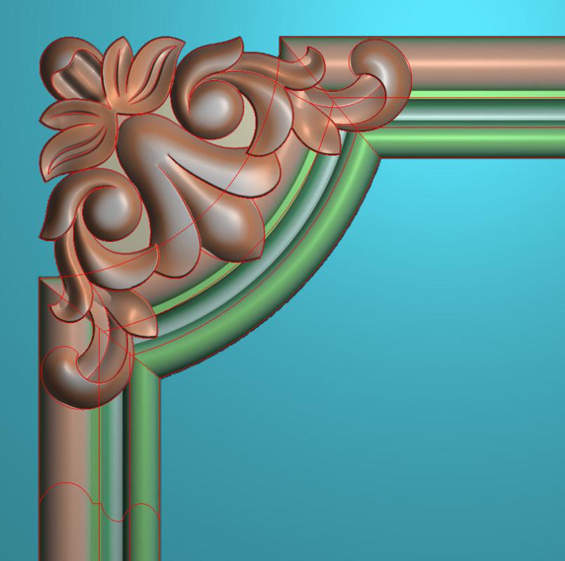 欧式正方图JDP格式植物角花系列JH099插图