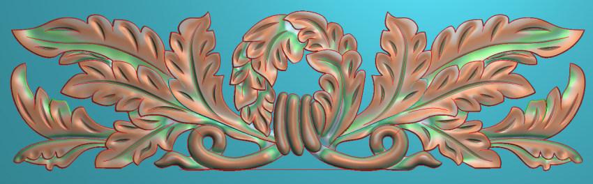 欧式三角花图JDP格式横图浮雕外墙装饰花洋花系列柜门花SH0209插图