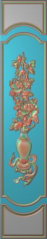 欧式竖图JDP格式雕刻雕花护墙板系列HQ0042插图