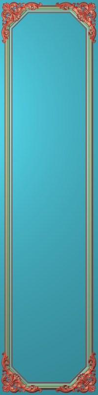 欧式竖图JDP格式雕刻雕花护墙板系列HQ00158插图
