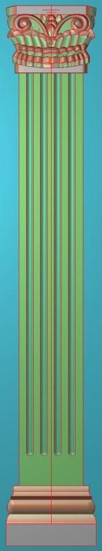 欧式竖图JDP格式罗马柱柱体系列ZB079插图