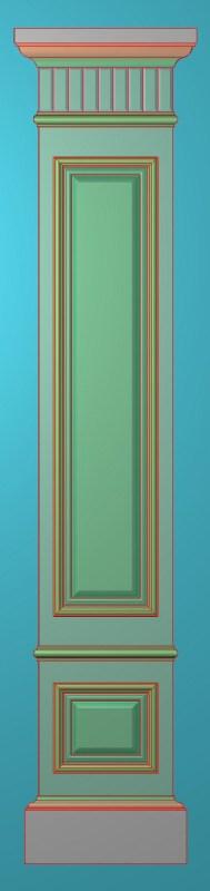 欧式竖图JDP格式罗马柱柱体系列ZB093插图
