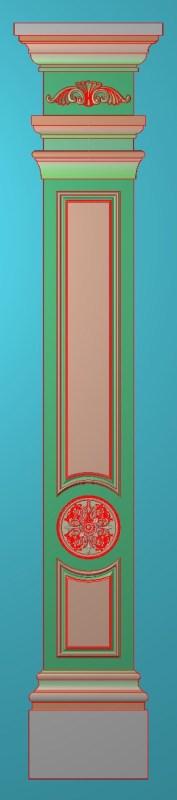 欧式竖图JDP格式罗马柱柱体系列ZB0112插图