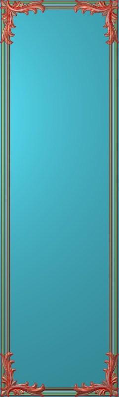 欧式竖图JDP格式雕刻雕花护墙板系列HQ00162插图