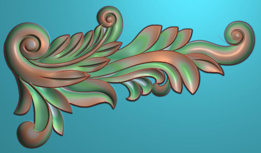 欧式横图JDP格式植物角花系列JH0224插图