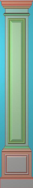 欧式竖图JDP格式罗马柱柱体系列ZB0121插图