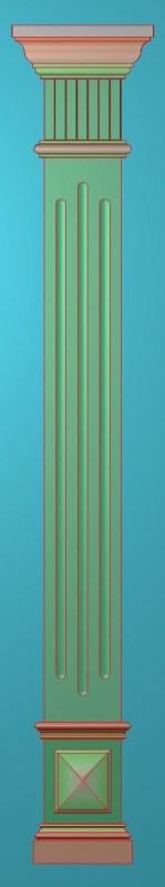 欧式竖图JDP格式罗马柱柱体系列ZB095插图