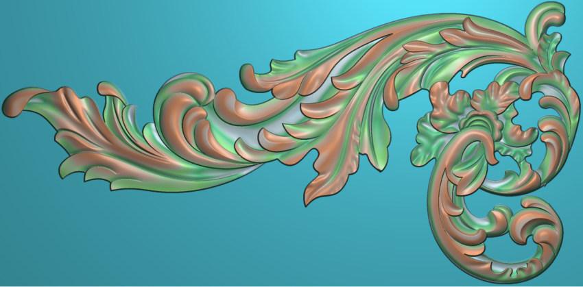 欧式横图JDP格式植物角花系列JH027插图
