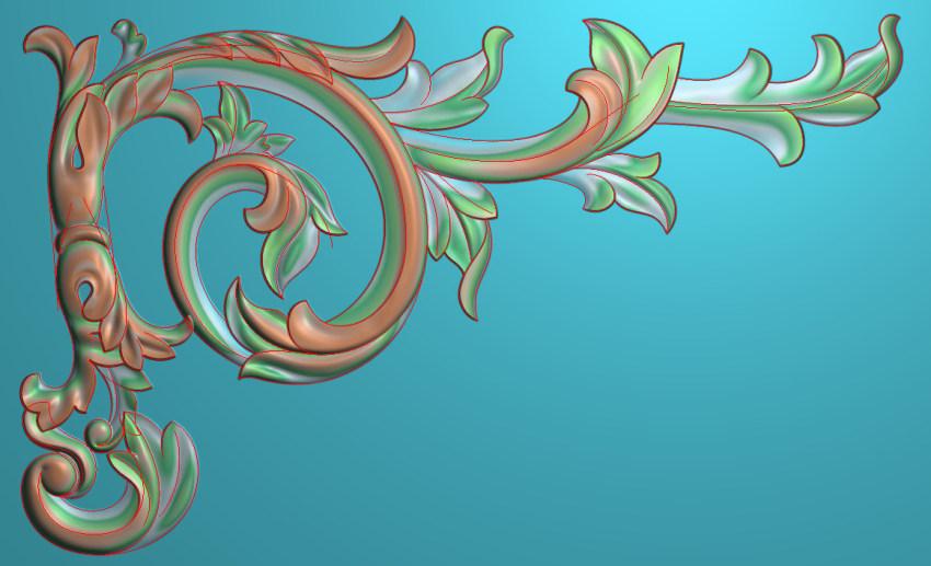 中式横图JDP格式植物角花系列JH0277插图