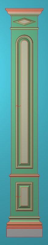 欧式竖图JDP格式罗马柱柱体系列ZB0102插图