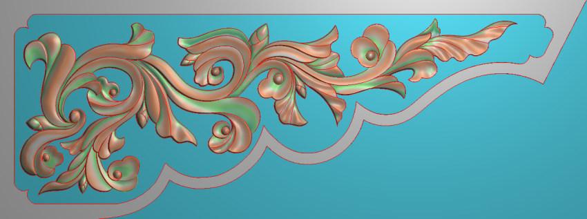 欧式横图JDP格式植物角花系列JH042插图