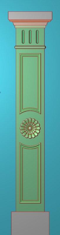 欧式竖图JDP格式罗马柱柱体系列ZB0117插图