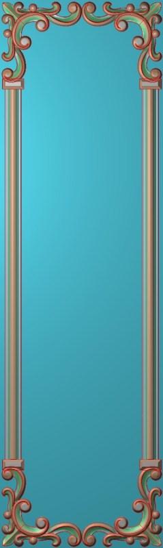 欧式竖图JDP格式雕刻雕花护墙板系列HQ00189插图