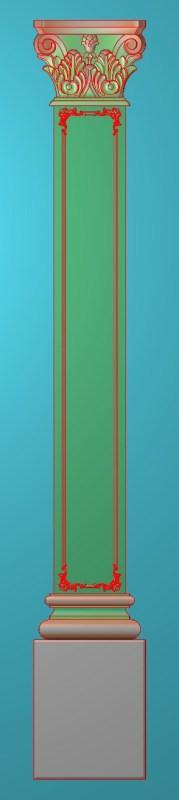 欧式竖图JDP格式罗马柱柱体系列ZB0110插图
