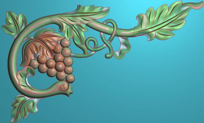 欧式横图JDP格式植物角花系列JH019插图