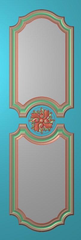 欧式竖图JDP格式雕刻雕花护墙板系列HQ0043插图