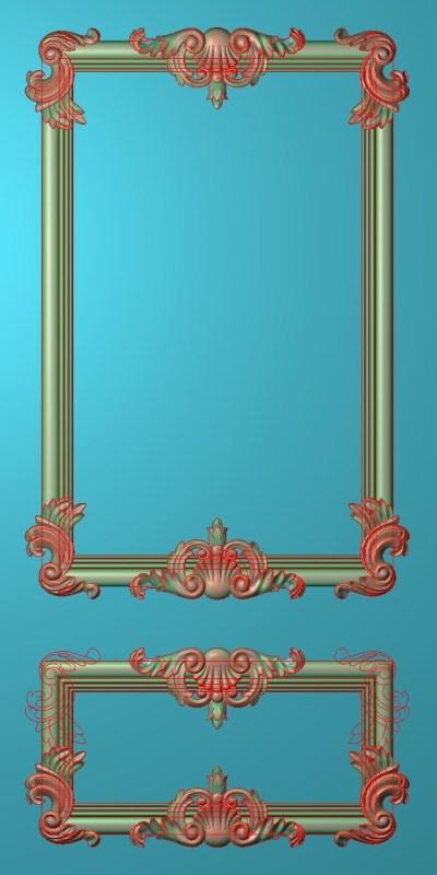 欧式竖图JDP格式雕刻雕花护墙板系列HQ00198插图