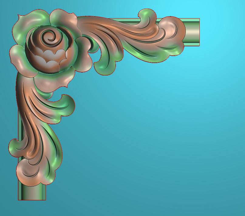 欧式正方图JDP格式植物角花系列JH0133插图