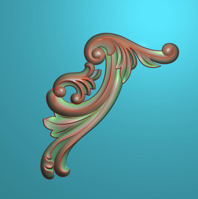 欧式正方图JDP格式植物角花系列JH0300插图