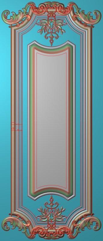 欧式竖图JDP格式雕刻雕花护墙板系列HQ0015插图