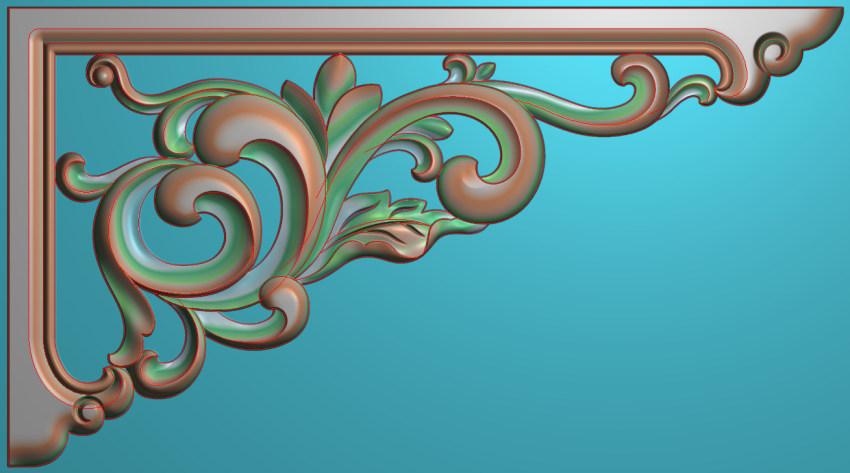 中式横图JDP格式植物角花系列JH0201插图