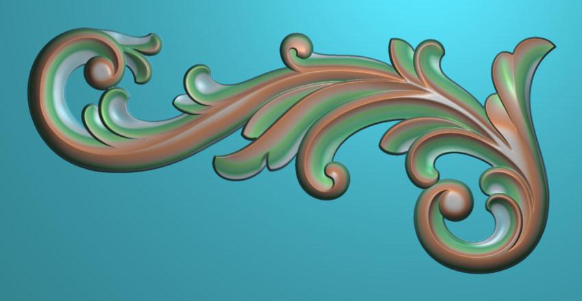 欧式横图JDP格式植物角花系列JH0223插图
