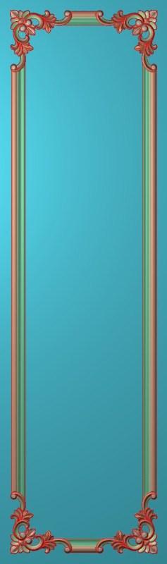 欧式竖图JDP格式雕刻雕花护墙板系列HQ00154插图