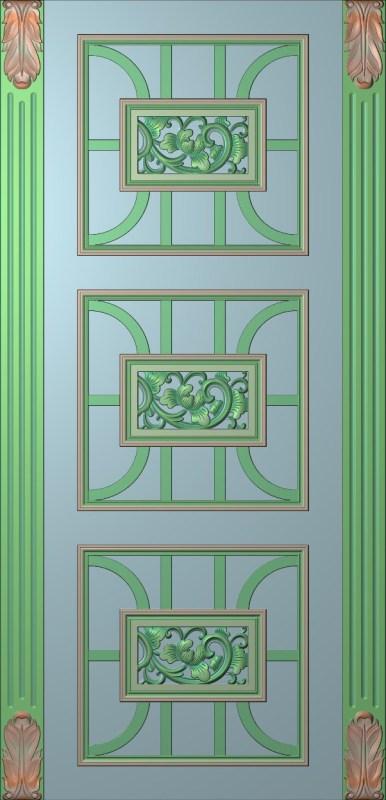欧式竖图JDP格式雕刻雕花护墙板系列HQ0076插图